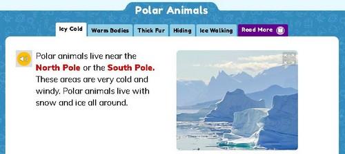 screenshot of article on PebbleGo