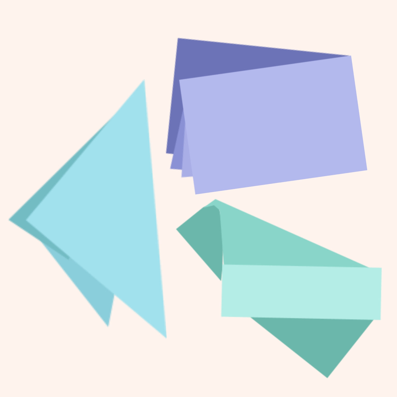 image of three pieces of folder paper