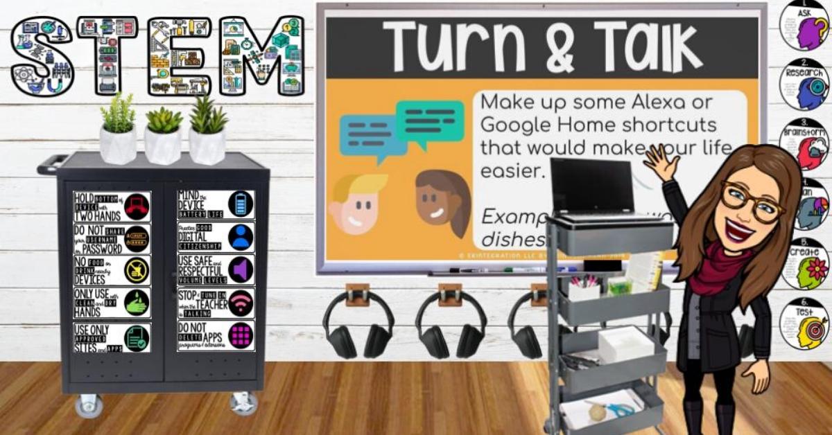 Bitmoji Classroom Scenes Virtual Classroom Backgrounds