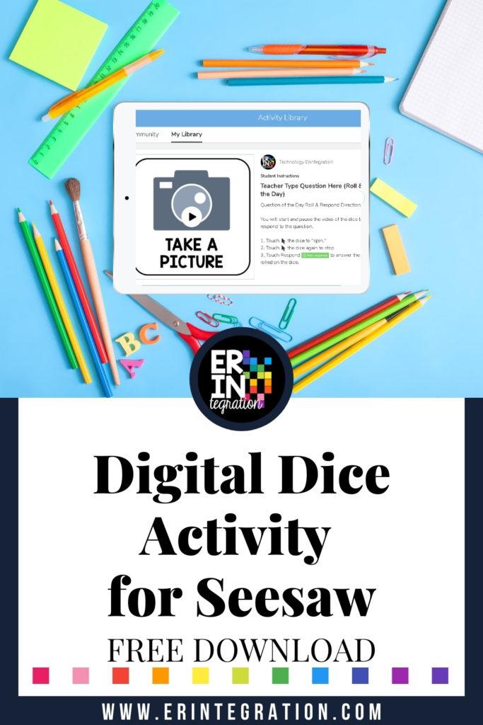 Erintegration Seesaw Creative Tools Digital Dice Free Activity (1)