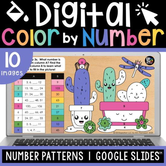 Erintegration Digital Color By Number Number Patterns cover image thumbnail