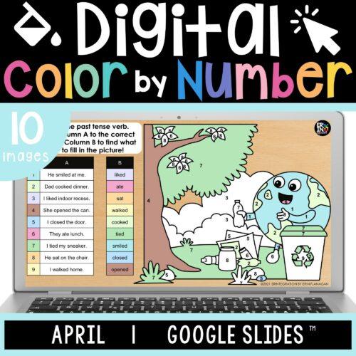 Erintegration Digital Color by Code APRIL