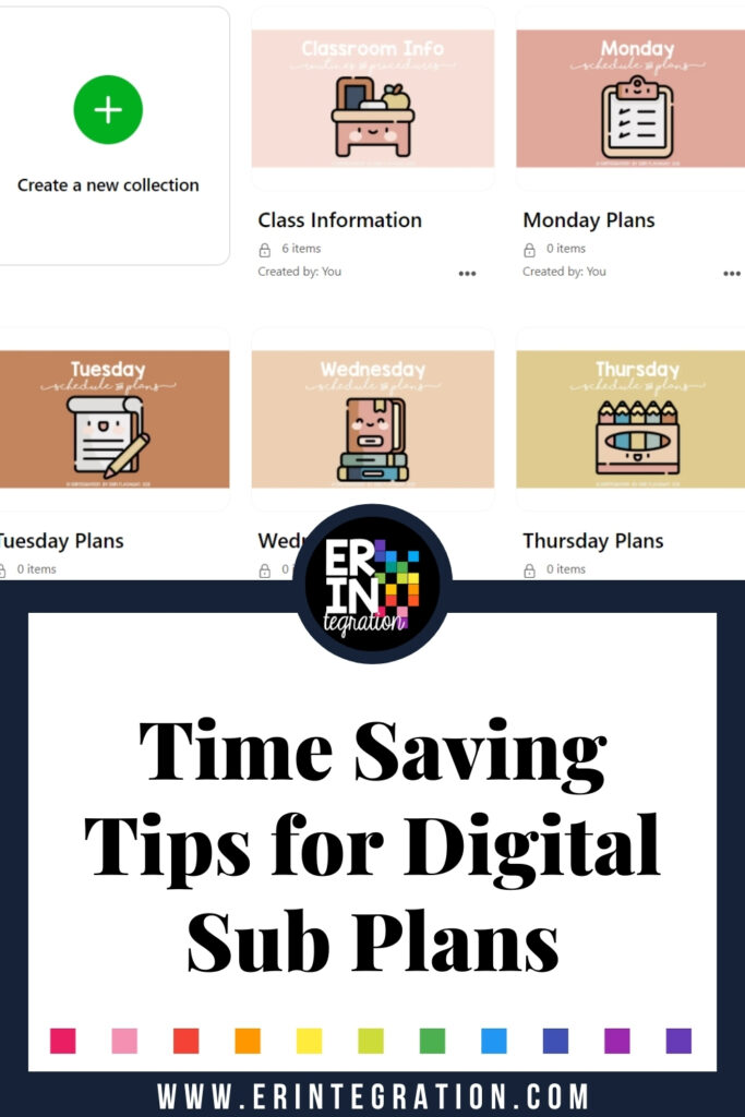 Erintegration Time Saving Tips Digital Sub Plans PIN (1)