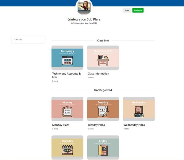 Erintegration Time Saving Tips Digital Sub Plans Wakelet Spaces Screenshot (1)
