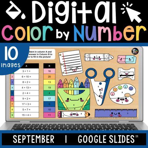 Erintegration Digital Color by Code SEPTEMBER Cover